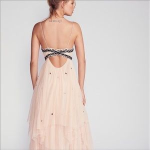 NWOT Free People Beaded Wildflower Dress